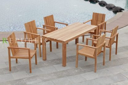 Indonesia Furniture Jepara Teak Outdoor Collections By Republic Furniture Group